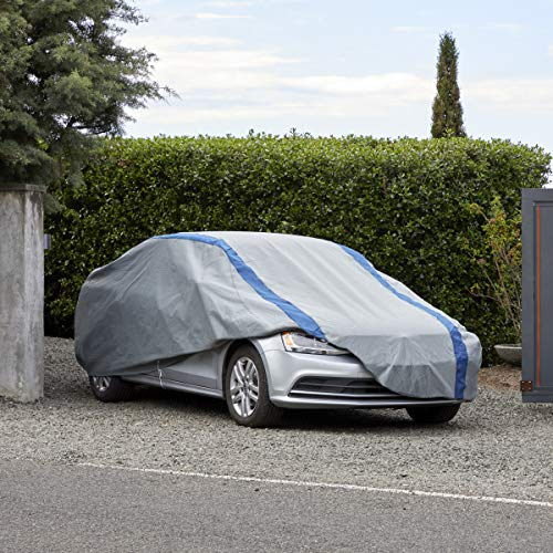 """Duck Covers Weather Defender Car Cover for Sedans up to 16' 8"""""""