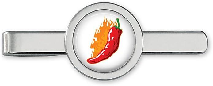 Oakmont Cufflinks Hot Chili - Gemelos con Clip para Corbata ...