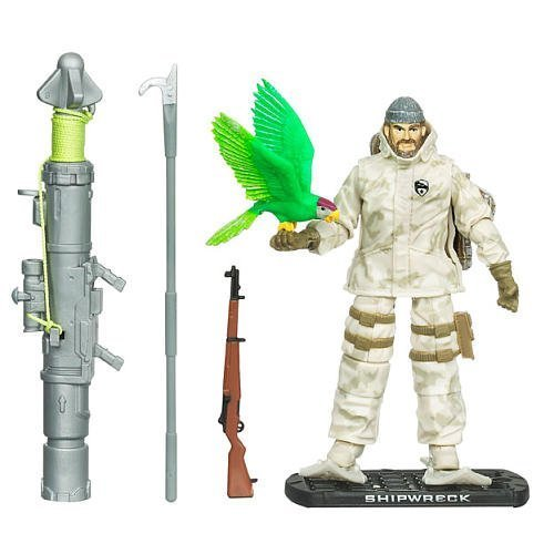 G.I. Joe Movie The Rise of Cobra 3 3/4 Inch Exclusive Action Figure Shipwreck Arctic Threat (Gi Joe The Rise Of Cobra Shipwreck)