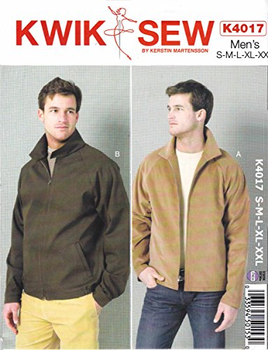 KWIK-SEW PATTERNS K4017 Men's Jackets Sewing Template ()