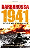 img - for Barbarossa 1941: Hitler's War of Annihilation by Geoffrey Megargee (2008-05-01) book / textbook / text book