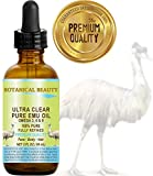 Ultra Clear Pure Emu Oil 100% Pure. 2 fl.oz -60 ml. Fully Refined/Golden For Face, Body, Hair, Lips. by Botanical Beauty