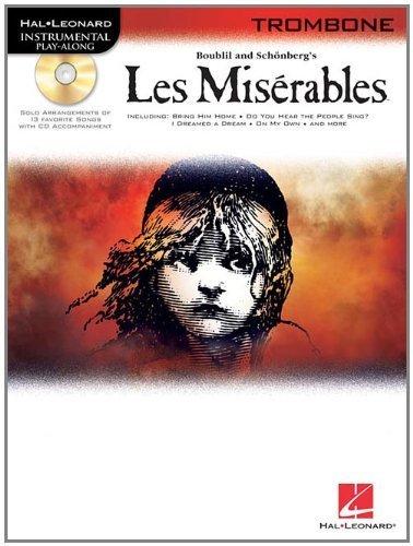 Les Miserables Selections For Trombone BK/CD (Hal Leonard Instrumental Play-Along) (2009-01-01) Les Miserables Trombone
