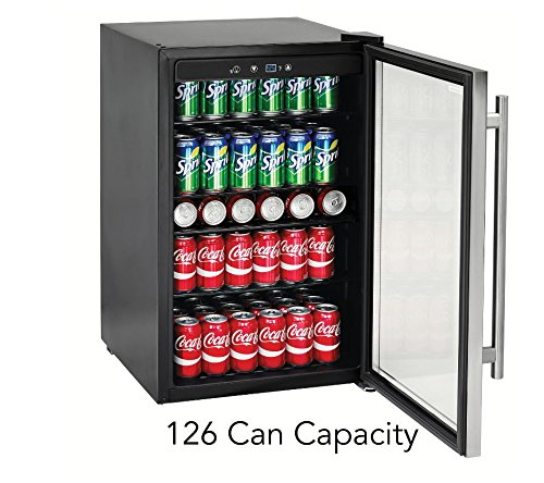 Tramontina Capacity Stainless Beverage Refrigerator product image