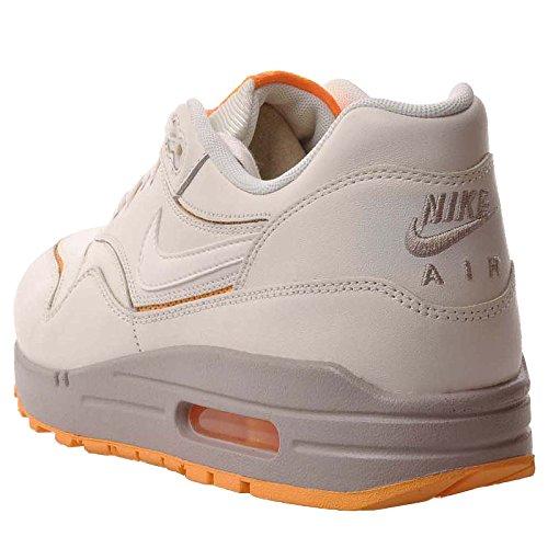 Nike Womens Air Max 1 Cut Out Prm Scarpe Da Ginnastica 644398 100 Scarpe Da Ginnastica Grigio