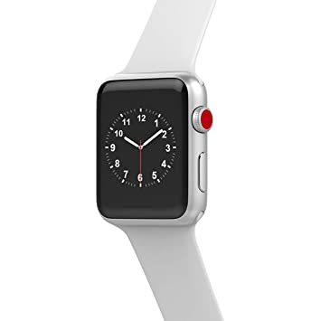 Smart watch W53 Bluetooth Series 3 Smartwatch Estuche para Apple iOS iPhone Android Phone Deporte Pulsera Fitness Reloj De Pulsera,Aluminumsilver