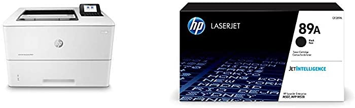 HP Laserjet Enterprise M507n (1PV86A) with Black Toner Cartridge