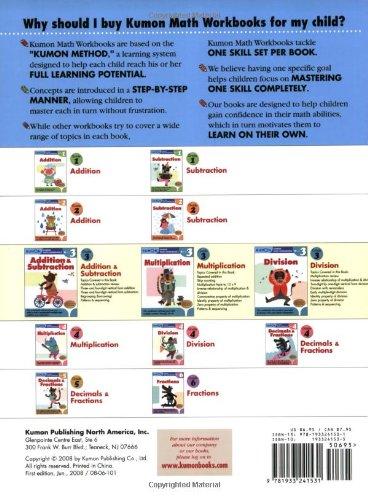 Grade 3 Addition & Subtraction (Kumon Math Workbooks): Kumon ...