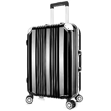 Maleta con ruedas para viaje Maleta Trolley Maleta de viaje - Marco de aluminio Estilo de maleta ...