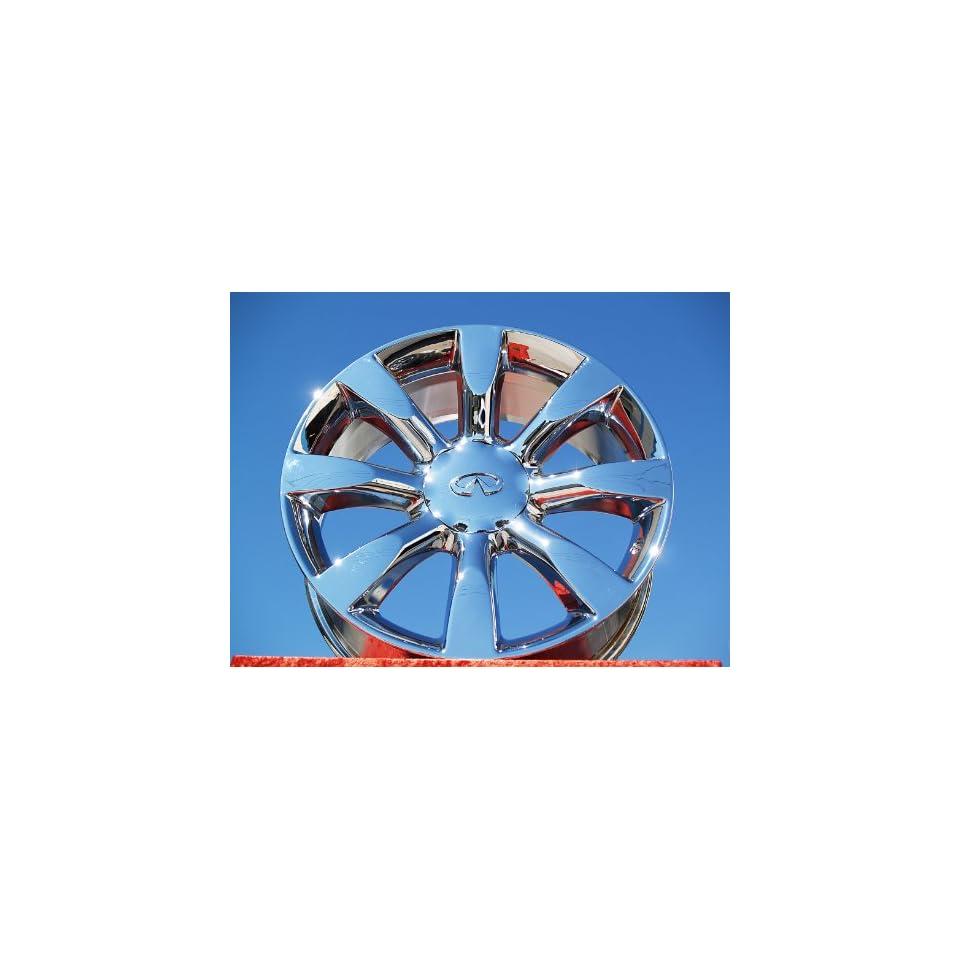 Sport/FX45 Set of 4 genuine factory 20inch chrome wheels Automotive