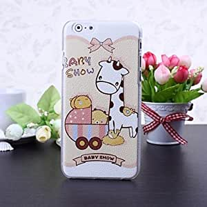 GJY Cute Baby Show Pattern Litchi Texture Plastic Hard Case for iPhone 6