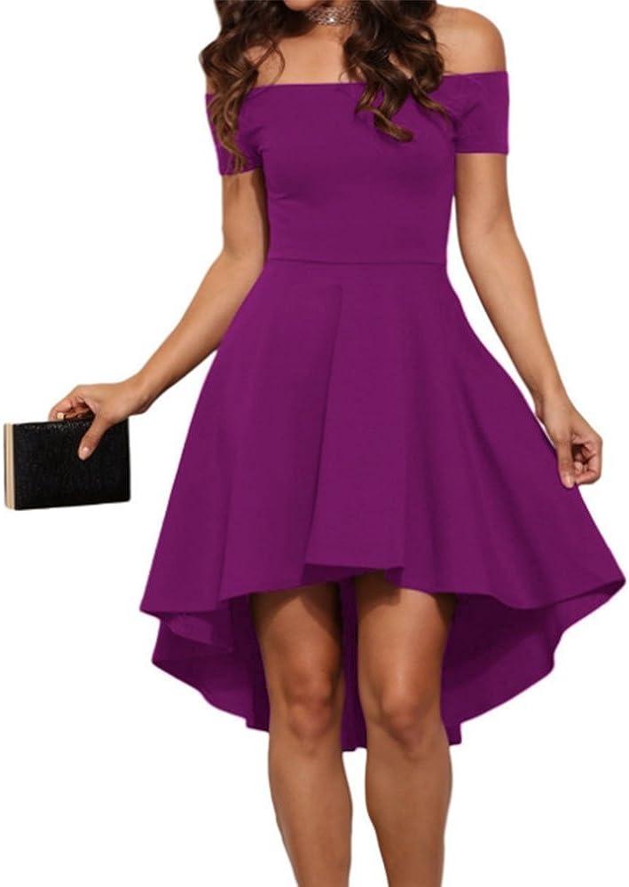 Damen Kleider Lange und kurz Abendkleider Moderne Disco Fashion Abendball oder Party Elegant Brautkleider f/ür Braut oder Zeremonie