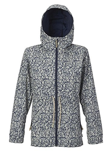 Burton Women's Narraway Jacket, Mood Indigo Mini Floral, - Burton Mini