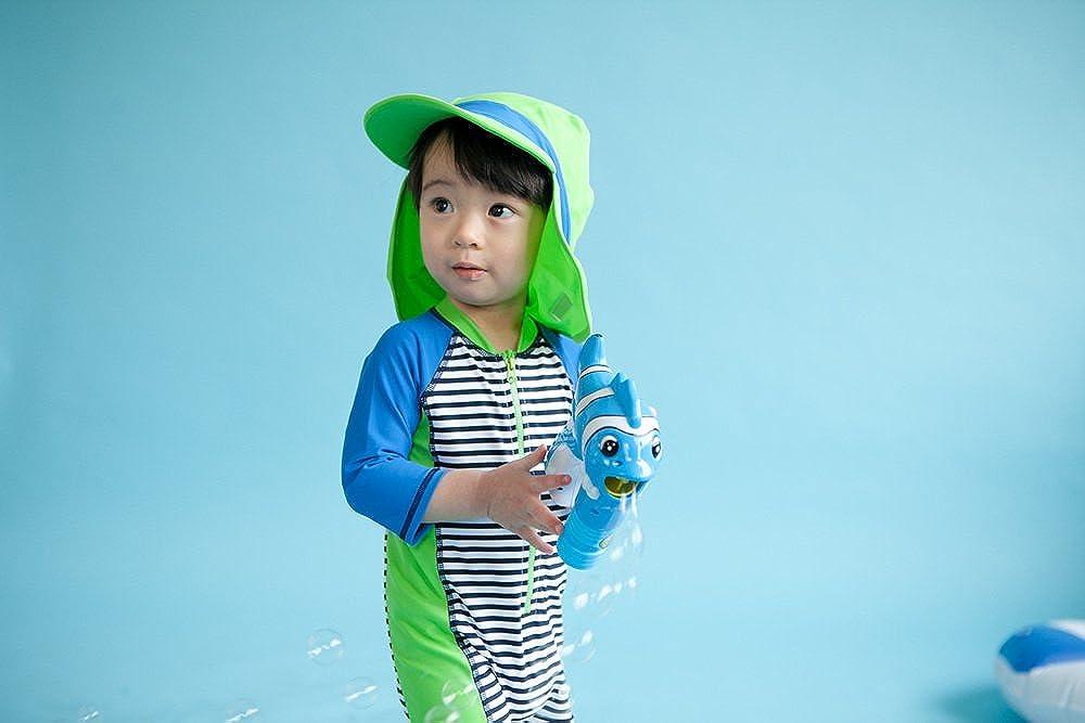 TINFL Vaenait Baby 0-24M Baby Boys Swimsuit Rashguard Swimwear Apple Green