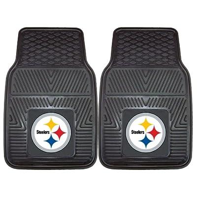 FANMATS NFL Pittsburgh Steelers Vinyl Car Mat