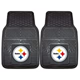 #2: FANMATS NFL Pittsburgh Steelers Vinyl Heavy Duty Car Mat
