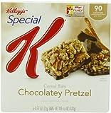 Special K Bars, Chocolatey Pretzel, 6-Count Bars Net Wt 4.6 Oz  (Pack of 6)