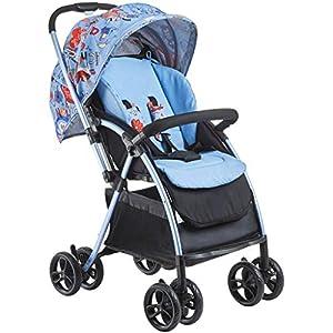 Xiix Landau Panier pour bébé Poussette bébé Ultra-léger Transporteur Pliant Landau Amortisseurs Poussette Landau bébé…