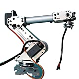 6 axis robot arm - Quickbuying KDX DIY 6DOF Aluminum Robot Arm 6 Axis Rotating Mechanical Robot Arm Kit With 6