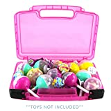 Pikmi Pops Case, Toy Storage Carrying Box. Figures Playset Organizer. Accessories for Kids by LMB