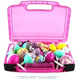 Life Made Better Pikmi Pops Surprise Case, Compatible Carrying Storage Case for Toys. Playset Organizer for Kid's Figures & Accessories, Pink