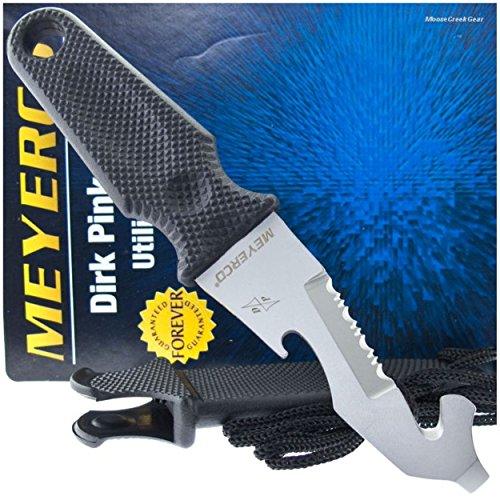 Meyerco Knives Cop Tool Neck Knife Utliity Cutter Emergency Life Saving Tool (Meyerco Nylon Knife)