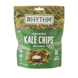 Rhythm Superfoods Organic Kale Chips, Original, 2 oz, Packaging May Vary