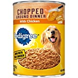 Pedigree Chopped Ground Dinner With Chicken Adult Canned Wet Dog Food, (12) 22 Oz. Cans Larger Image