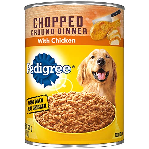 Pedigree Chopped Ground Dinner With Chicken Adult Canned Wet