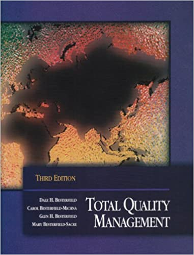 Total quality management 3rd edition dale h besterfield carol total quality management 3rd edition 3rd edition fandeluxe Choice Image