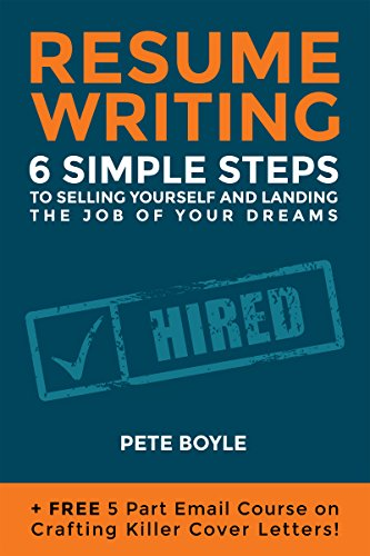 Amazon.com: Resumé Writing: 6 Simple Steps to Selling Yourself and ...