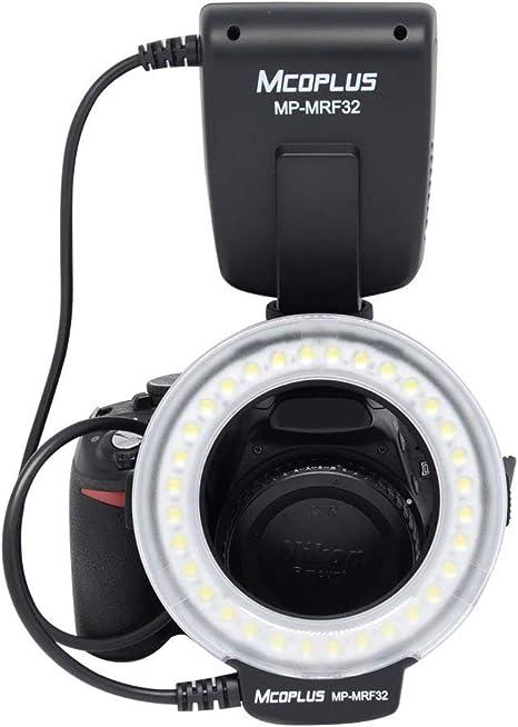 Mcoplus mp-mrf32 Universal Mount Macro anillo de luz de flash ...