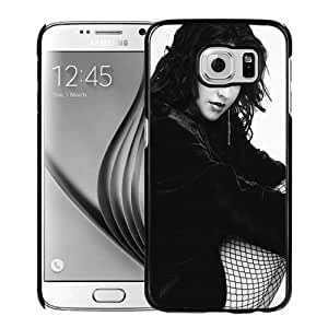 New Personalized Custom Designed For Samsung Galaxy S6 Phone Case For Christina Aguilera Mesh Stockings Phone Case Cover