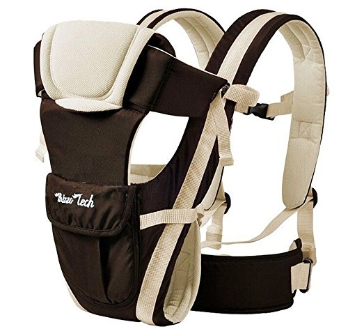 able Wrap Sling Rider Backpack Khaki (Baby Sling Khaki)