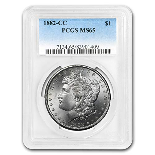 1882 CC Morgan Dollar MS-65 PCGS $1 MS-65 PCGS