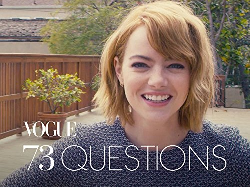 73 Questions With Emma Stone