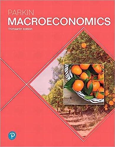 Macroeconomics 13th edition pearson series in economics macroeconomics 13th edition pearson series in economics 13th edition by michael parkin fandeluxe Gallery