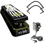 Dunlop KH95 Kirk Hammett Signature Cry Baby Wah Pedal Bundle with 2 Patch
