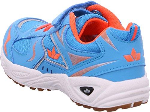 Lico Bob VS - Zapatillas deportivas para interior de material sintético Niños^Niñas azul/naranja