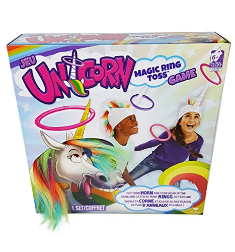 Unicorn Ring Toss is an indoor energy burning toy for kids