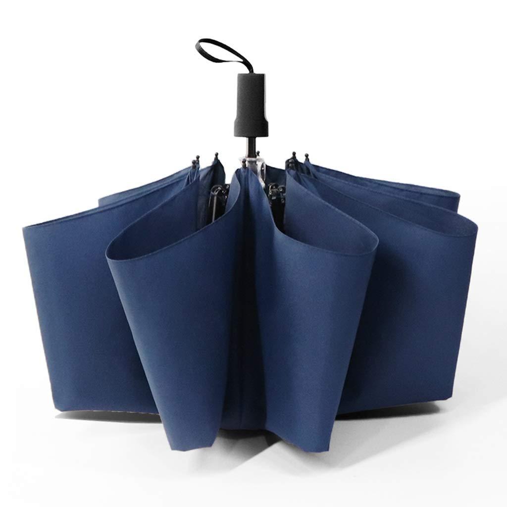 LWT 傘折りたたみ防風補強マニュアル晴れの日と雨を兼ね備えた男性と女性のビジネス44.9x24.6in B07SXKL69S