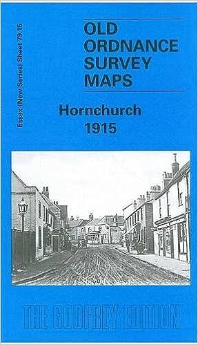 Old Ordnance Survey Maps Hornchurch Essex 1915 Godfrey Edition Offer