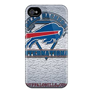 Durable Hard Cell-phone Cases For Iphone 4/4s (ywd4209LPTt) Provide Private Custom High-definition Buffalo Bills Skin