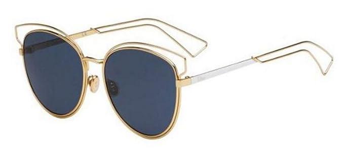 fca5cf14b55f New Christian Dior SIDERAL 2 J9H/KU Rose Gold Palladium/Dark blue Sunglasses
