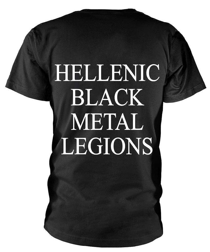 Rotting Christ Hellenic Black Metal Legions T-shirt T-shirts Shirts & Hemden