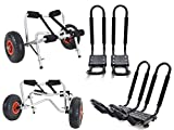 2 Sets Roof J rack Kayak Boat Canoe Car