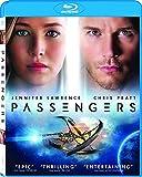 Passengers (Blu-ray) ~ Jennifer Lawrence Cover Art