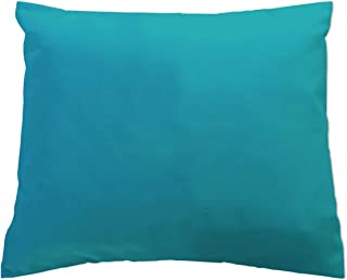 product image for SheetWorld Crib Toddler Pillow Case, 100% Cotton Jersey Knit, Teal Jersey Knit, 13 x 17, Made in USA