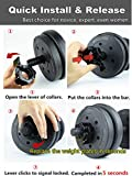 TOFEIC 1 Inch Quick Release Dumbbell Clamps