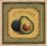 Avocado - Poster by Daphne Brissonnet (12 x 12)